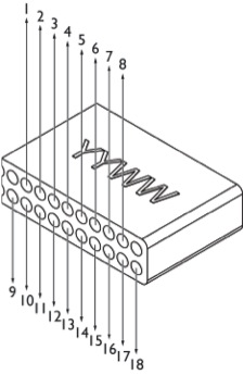 16-channel semichronic